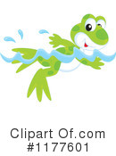 Royalty-Free (RF) Frog Clipart Illustration #1177601