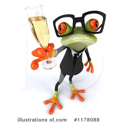 Formal Frog Clipart #1178088 by Julos