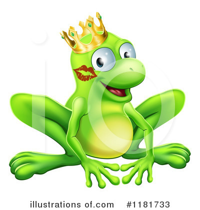 Frog Prince Clipart #1181733 by AtStockIllustration