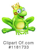 Royalty-Free (RF) Frog Clipart Illustration #1181733