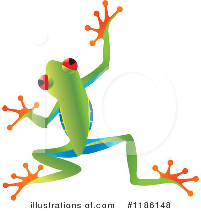 Frog Clipart #1186148 by Lal Perera