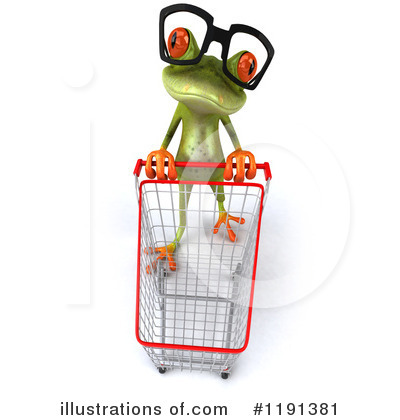Royalty-Free (RF) Frog Clipart Illustration by Julos - Stock Sample #1191381