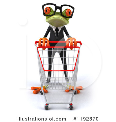 Royalty-Free (RF) Frog Clipart Illustration by Julos - Stock Sample #1192870