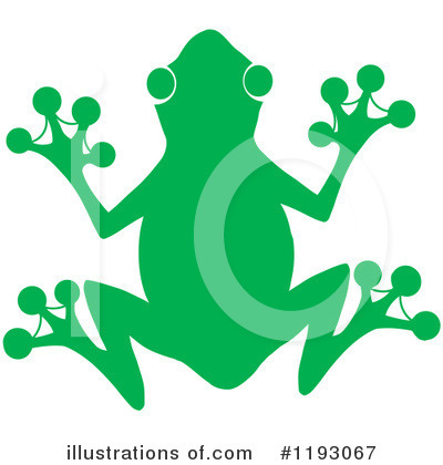 Frog Clipart #1193067 by Hit Toon