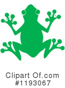 Royalty-Free (RF) Frog Clipart Illustration #1193067