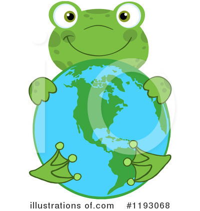 Royalty-Free (RF) Frog Clipart Illustration by Hit Toon - Stock Sample #1193068