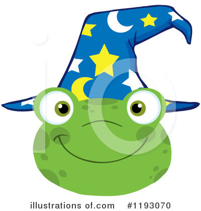 Wizard Clipart #1193070 by Hit Toon