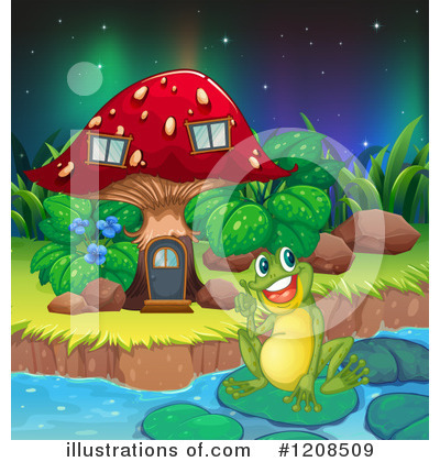Northern Lights Clipart #1208509 by Graphics RF