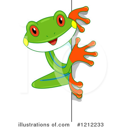 Frog Clipart #1212233 by BNP Design Studio