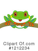 Royalty-Free (RF) Frog Clipart Illustration #1212234