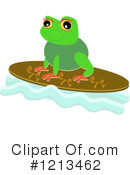 Royalty-Free (RF) Frog Clipart Illustration #1213462