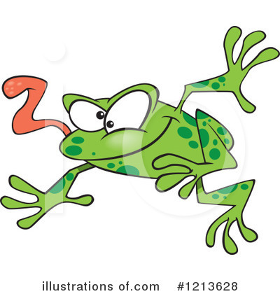 Frog Clipart #1213628 by toonaday
