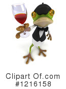 Frog Clipart #1216158 by Julos