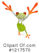 Frog Clipart #1217570 by Julos