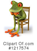 Frog Clipart #1217574 by Julos