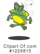 Frog Clipart #1226815 by toonaday