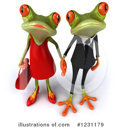 Female Frog Clipart #1231179 by Julos
