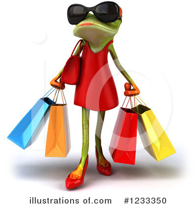 Shopping Bag Clipart #1233350 by Julos