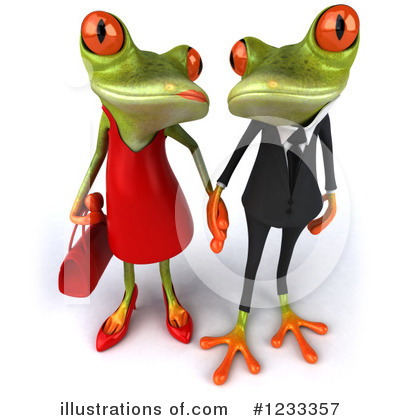 Female Frog Clipart #1233357 by Julos
