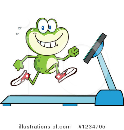 Frog Clipart #1234705 by Hit Toon