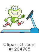 Royalty-Free (RF) Frog Clipart Illustration #1234705