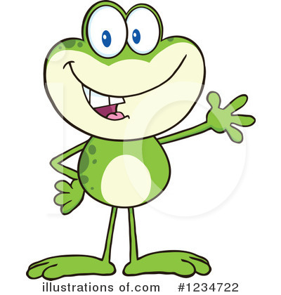 Frog Clipart #1234722 by Hit Toon