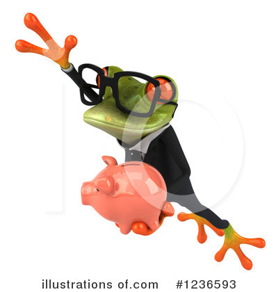 Formal Frog Clipart #1236593 by Julos