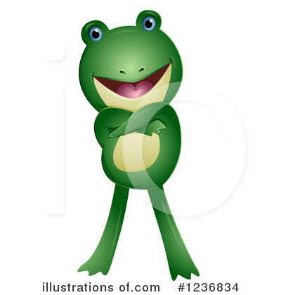 Frog Clipart #1236834 by BNP Design Studio