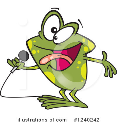 Frog Clipart #1240242 by toonaday