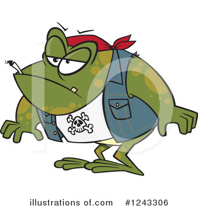 Frog Clipart #1243306 by toonaday