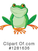 Frog Clipart #1281636 by Pushkin