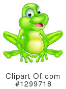 Frog Clipart #1299718 by AtStockIllustration