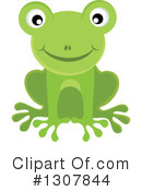 Royalty-Free (RF) Frog Clipart Illustration #1307844
