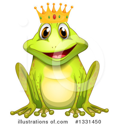 Frog Prince Clipart #1331450 by Graphics RF