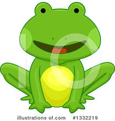 Frog Clipart #1332219 by BNP Design Studio