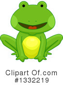 Royalty-Free (RF) Frog Clipart Illustration #1332219