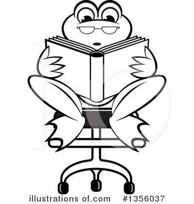 Book Clipart #1356037 by Lal Perera