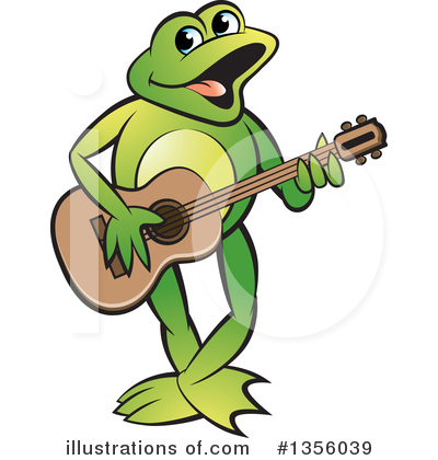 Frog Clipart #1356039 by Lal Perera
