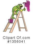 Frog Clipart #1356041 by Lal Perera
