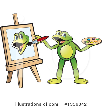 Painting Clipart #1356042 by Lal Perera