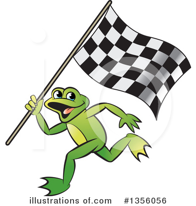 Royalty-Free (RF) Frog Clipart Illustration by Lal Perera - Stock Sample #1356056