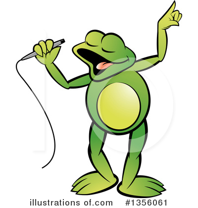 Frog Clipart #1356061 by Lal Perera