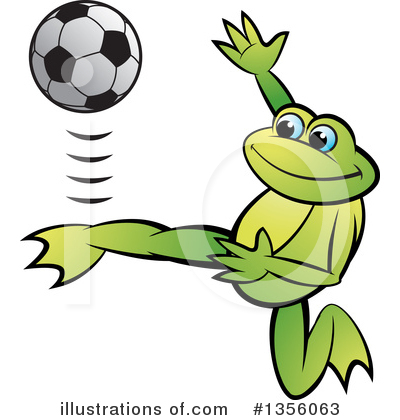 Frog Clipart #1356063 by Lal Perera