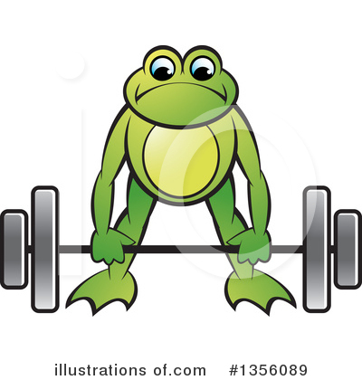 Weightlifting Clipart #1356089 by Lal Perera