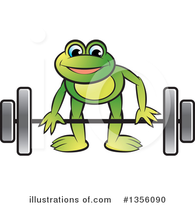Weightlifting Clipart #1356090 by Lal Perera