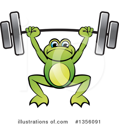 Weightlifting Clipart #1356091 by Lal Perera