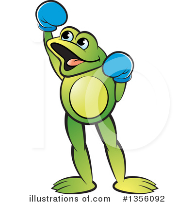 Frog Clipart #1356092 by Lal Perera