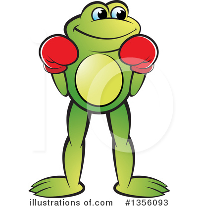 Frog Clipart #1356093 by Lal Perera