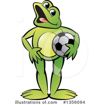 Frog Clipart #1356094 by Lal Perera
