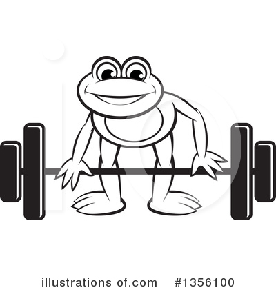 Weightlifting Clipart #1356100 by Lal Perera